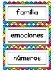 100 Words in Spanish / 100 Palabras en Español
