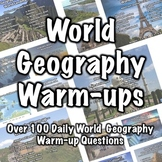 100+ World Geography Warm-ups
