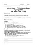 WORLD UNIT 12 LESSON 11. World War II Essay Question