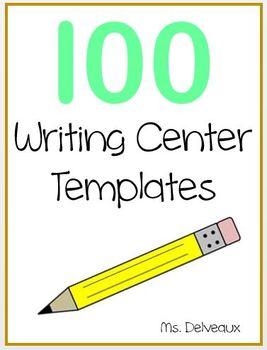 100 Writing Center Printables