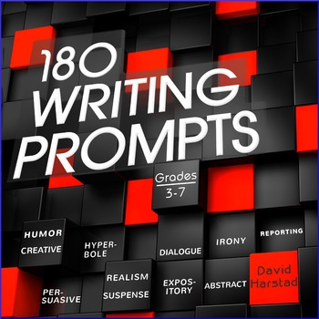 Writing: 180 Writing Prompts - PowerPoint & Printable Index (Gr. 3-7)
