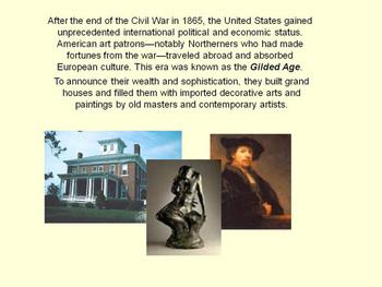 100 Years of American Art (civil war - vietnam war)