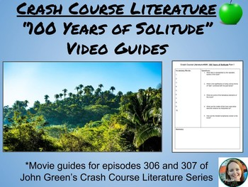 """""""100 Years of Solitude"""" Crash Course Literature Video Guides (Episodes 306-307)"""