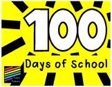 100 and 101 Days of School Headband