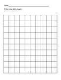 100 and 120 Chart Templates BLANK