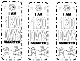 100 and 120 Day Bookmark