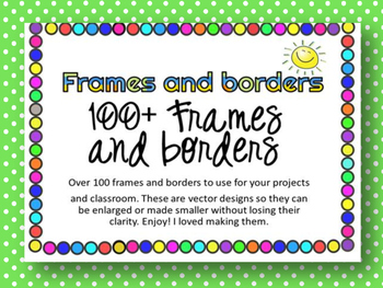 100+ borders and frames