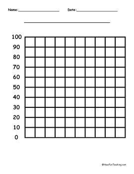 100 by 100 Blank Graph Paper