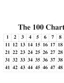 100 chart (1 inch squares)