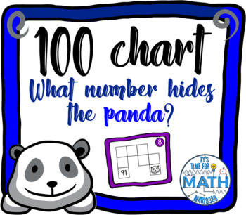 100 chart game - Where's the panda?