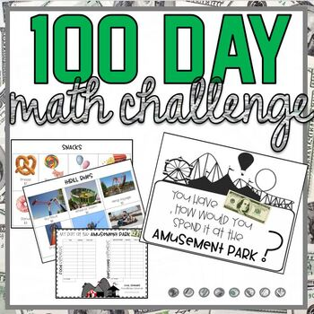 100 day activity- Amusement Park Challenge