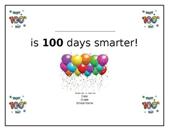 100 day certificate