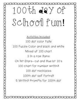 100 day of school fun!