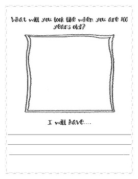 100 day worksheet (100 years old)