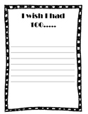 100 day worksheet ( I wish I had 100...)