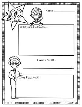 100 days fun questionnaire