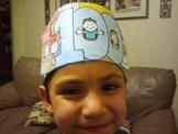 100 days of School pattern hats
