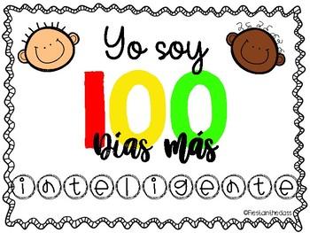 100th Day of school in Spanish - 100 Dias de Escuela