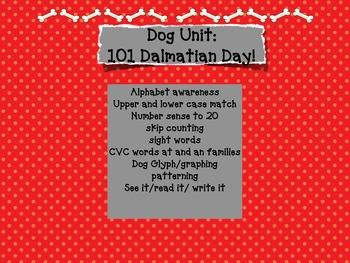 100 days of school? How about101 Days of School/ Dalmatian or PuppyUnit/