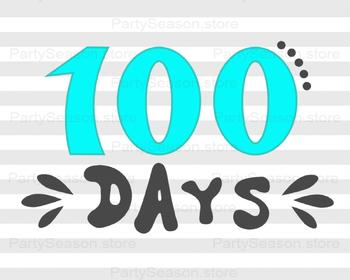 100 days of school Shirt SVG design Back to school Svg