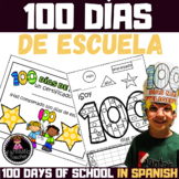 100 days of school activity book in Spanish
