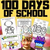 100 days of school book activities in English