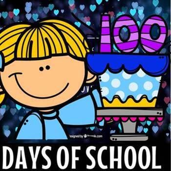 100 days of school bundle(50% off for 48 hours)