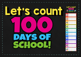 100 days of school countdown chart 10 frame