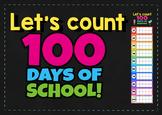 100 days of school countdown chart 10 frame