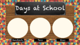 100 days of school counting chart tribal