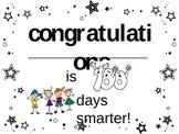 100 days smarter certificate