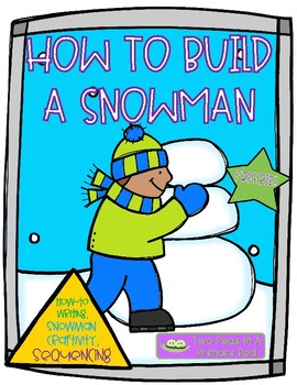 100 follower FREEBIE - How to Build a Snowman