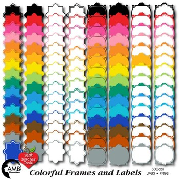 Frames Clipart, Labels Clipart, and Tags Clipart, AMB-476