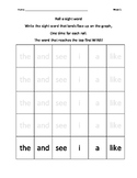 100 fry words roll a sight word