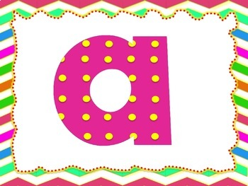 100 images of Pink Mother's Day Theme Alphabet, Numbers and Symbols (Polka Dots)