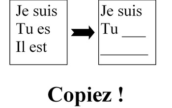Flashcards 100% in French - Imperative Command & activities