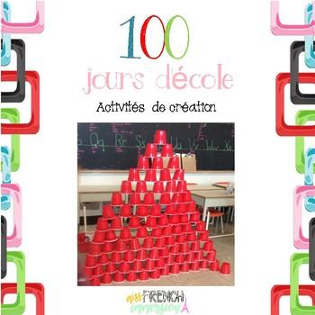 100 jours d'école - Activité de création