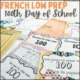 100 jours d'école - Activités variées