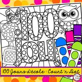 100 jours d'école • Count and Dot