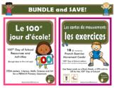 100 jours d'école - French 100 Days of School - BUNDLE
