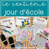 100 jours d'école! Kindergarten 100th day of school activities!