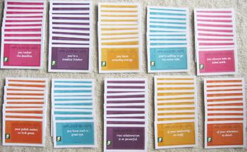 100 motivational cards positive reinforcement gratitude achievement motivation