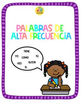 100 palabras de alta frecuencia en español.