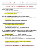 100-question TEST over The Immortal Life of Henrietta Lacks with KEY