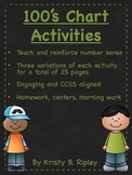100's Chart Activities CCSS Aligned