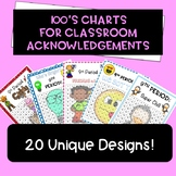 100's Chart  (For Tracking/Awards/Acknowledgments) Bundle