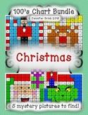 100's Chart Hidden Picture: Christmas/December Bundle #5 p
