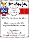 100's Day Assignments