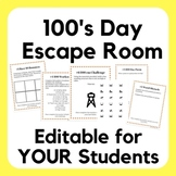 100's Day Escape Room