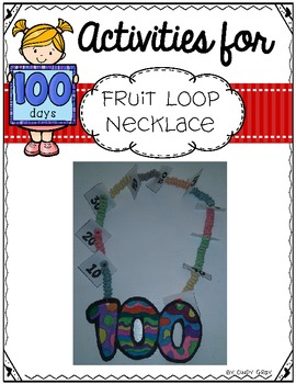 100's Day Fruit Loop Necklace